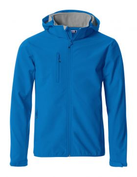 Basic Hoody Softshell Jacket Royal Blue