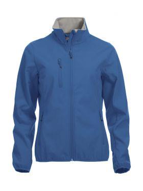 Basic Softshell Jacket Ladies Royal Blue