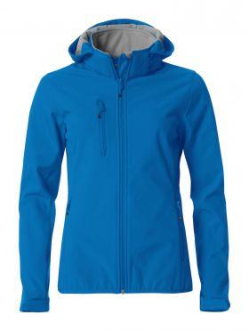 Basic Hoody Softshell Ladies Jacket Royal Blue