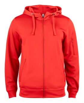 Basic Active hood full zip