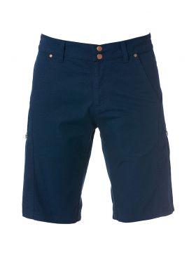 Zip-Pocket Shorts Dark Navy