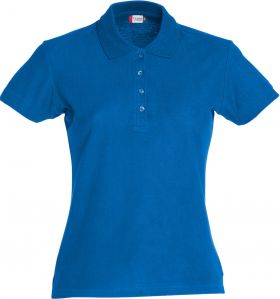 Basic Polo Ladies Royal Blue