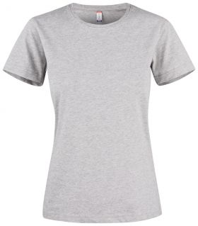 Premium Fashion-T Ladies Grey Melange