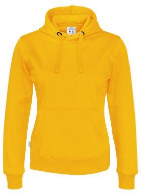 Hood Lady Yellow