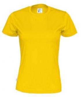 T-shirt Lady Yellow