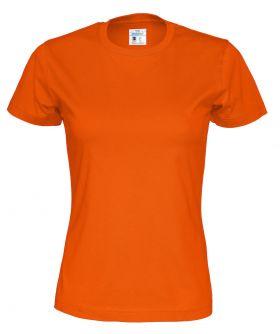 T-shirt Lady Orange
