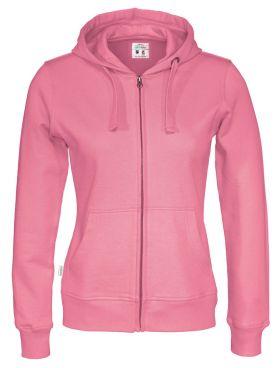 Full Zip Hood Lady Pink