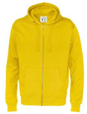 Full Zip Hood Man Yellow