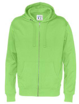 Full Zip Hood Man Green