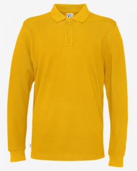 Pique LS Man Yellow