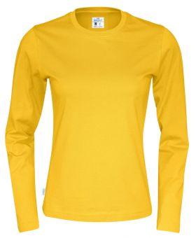 T-Shirt LS Lady Yellow