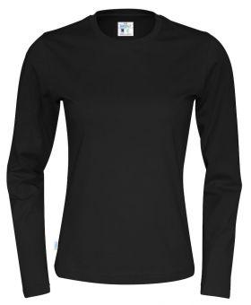 T-Shirt LS Lady Black