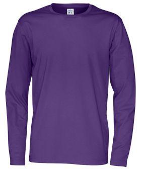 T-Shirt LS Man Purple