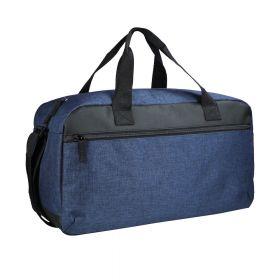 Melange Travelbag Navy Melange