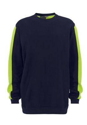 Venezia Sweatshirt Navy/Yellow