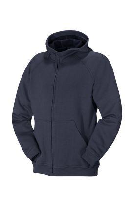 Norton Hood Full Zip Junior Navy