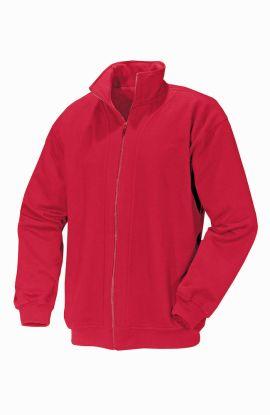 Devon Full Zip Sweatshirt Red