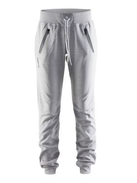 In-the-zone Sweatpants W Grey Melange/White/Black