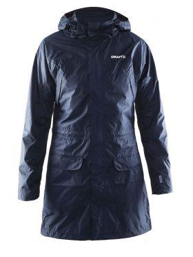 Parker Rain Jacket W Dk Navy