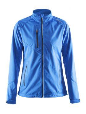Bormio Soft Shell Jacket W Sweden Blue