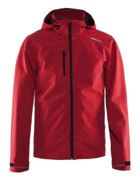 Light Softshell Jacket M Bright Red