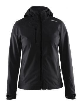Light Softshell Jacket W Black