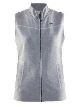 In-the-zone Vest W Grey Melange/White/Grey Melange