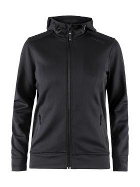 Noble Full Zip Hood W Black