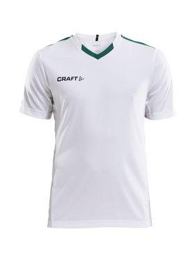 Progress Jersey Contrast M White/Team Green