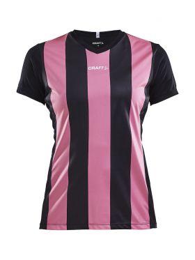 Progress Jersey Stripe W Black/Pop