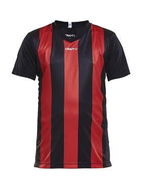 Progress Jersey Stripe JR Black/Bright Red
