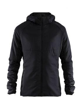 Emotion light padded jacket M Black