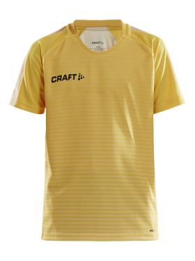 Pro Control Stripe Jersey Jr Sweden Yellow/Flumino