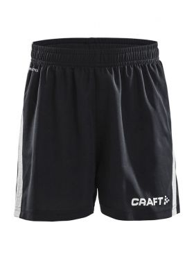 Pro Control Shorts Jr Black/White