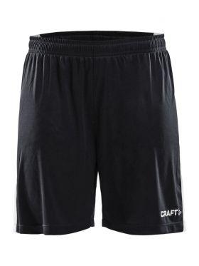 Pro Control Longer Shorts Contrast W Black/White