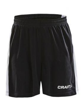 Pro Control Longer Shorts Contrast Jr Black/White