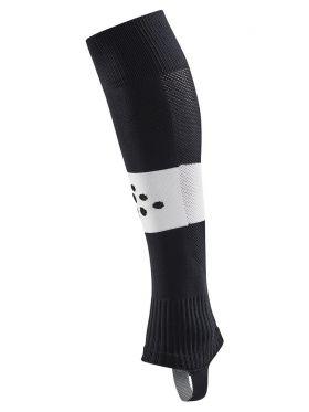 Pro Control Stripe W-O Foot Socks Jr Black/White