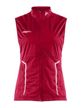 Club Vest W Bright Red