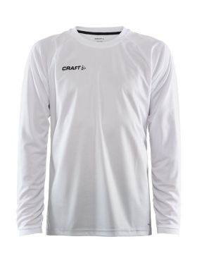 Pro Control Fade Jersey Ls M White/Silver