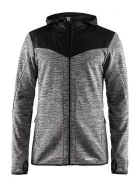 Breakaway Jersey Jacket II M Dk Grey Melange-Black