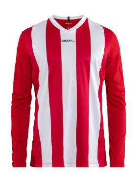 Progress Jersey Stripe Ls M Bright Red