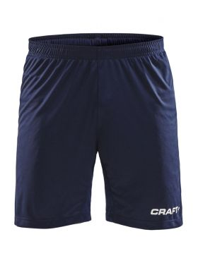 Pro Control Longer Shorts Contrast Wb M Navy/White
