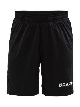 Pro Control Longer Shorts Contrast Wb Jr Black/White