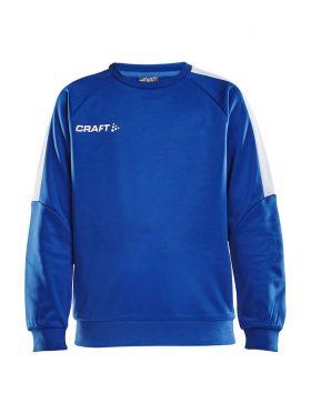 Progress R-Neck Sweater Jr Club Cobolt/White