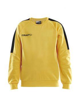 Progress R-Neck Sweater Jr Sweden Yellow/Black