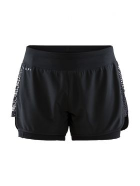 Charge 2-in-1 Shorts W Black