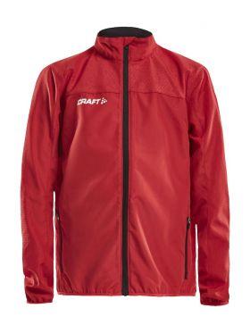 Rush Wind Jacket JR Bright Red