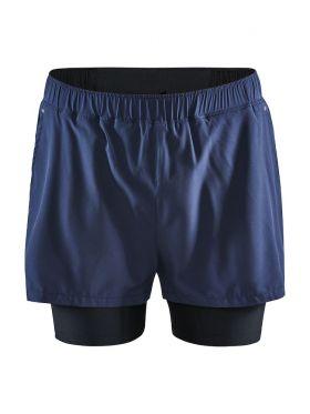 ADV Essence 2-in-1 Stretch Shorts M Blaze