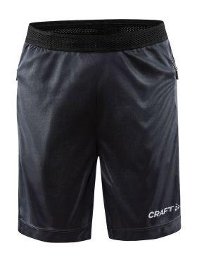 Evolve Zip Pocket Shorts JR Asphalt