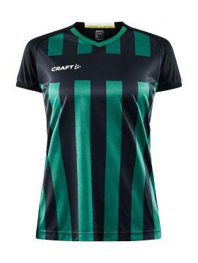 Progress 2.0 Stripe Jersey W Black/Team Green